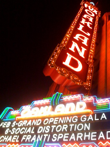 Fox Oakland on opening night (from Flickr)