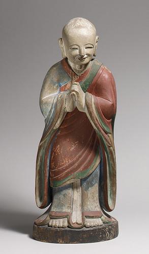 013-Estatua de la Kashyapa-dinastía Choson- año 1700-Corea- Copyrigth © 2000-2009 The Metropolitan Museum of Art
