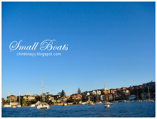 Sydney Harbour: Small Boats