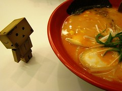 can i eat too? (Flyingdreamz a.k.a. Antevaxis) Tags: toys ramen spicy danbo revoltech danboard