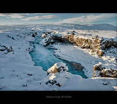 Ice landscape (Trausti lafsson) Tags: blue snow nature water river iceland frost goafoss nikond80 imageplus anawesomeshot multimegashot sensationalphoto artistictreasurechest traustilafsson imagesforthelittleprince photographicimagequest lightiq