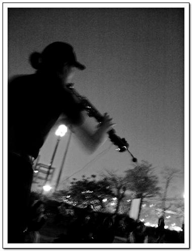 黑白演奏者