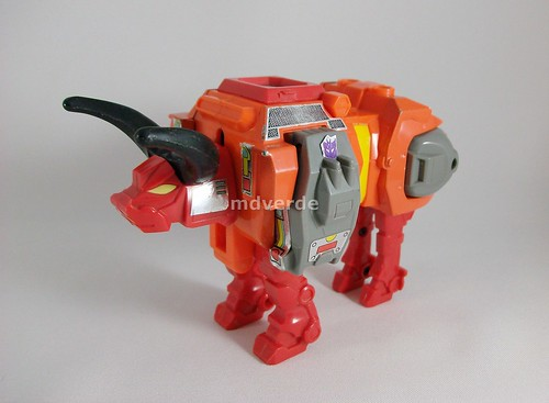 Transformers Tantrum G1 - modo alterno (by mdverde)