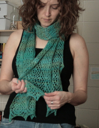 Diamond Lattice Stole 3