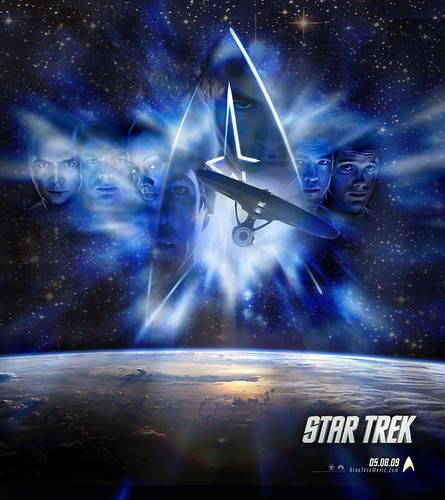 STAR TREK 2009 Poster, star trek wallpapers, startrek enterprise voyage, Star trek poster