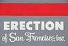 Erection of San Francisco (edwardhorsford) Tags: sf sanfrancisco trip usa holiday sign america san francisco funny photowalk erection 18200mmvrdx