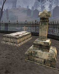 Grave Markers And Tombs (studiosLsM) Tags: graveyard cemetary hangman graves medical secondlife xray supplies iv 19 crypt noose stake voodoodolls autopsy autopsytable torure cremationoven darkplotsblogspotcom nimabenoir slurryst