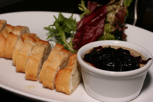 pate with onion marmalade