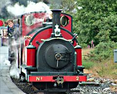Engine on Ffestiniog Railway (stephencurtin) Tags: travel wales train railway tp narrow ffestiniog bej platinumphoto anawesomeshot colorphotoaward citrit goldstaraward thechallengefactory
