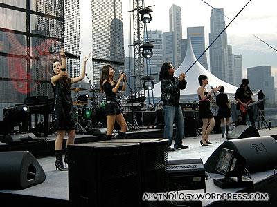 Pre-show performance