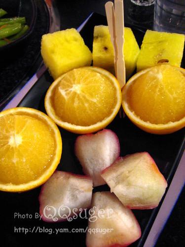 你拍攝的 水果。