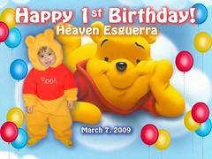 my best picture (ARMIE ESGUERRA) Tags: 1st bday heavens