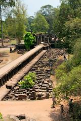 Baphuon in Angkor Thom (Christian Haugen) Tags: temple cambodia khmer buddhist restoration angkor vii angkorthom baphuon mahayana jayavarmann