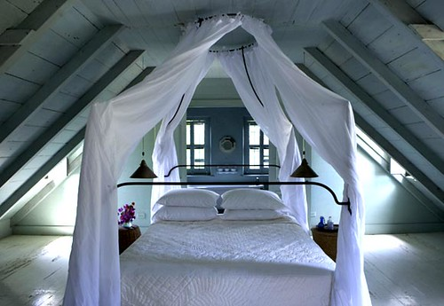 bedroom in the bahamas by The Sugar Monster.