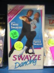 Swayze Dancing!