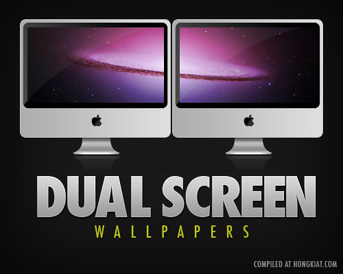70 beautiful dual monitors desktop wallpapers hongkiat