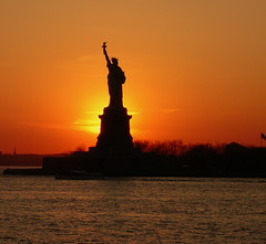 Missed My Lady Liberty! (ecco9494) Tags: ocean park nyc newyorkcity sunset usa sun newyork france statue french liberty freedom us nikon unitedstates searchthebest explore statueofliberty ladyliberty d300 blueribbonwinner libertylady libertysunset goldstaraward supershotstates americanationalsymbol statueoflibertysunsets