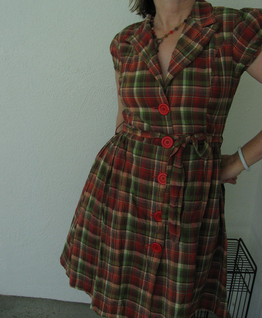 Speed Control New York cotton dress ~ SWAPPED