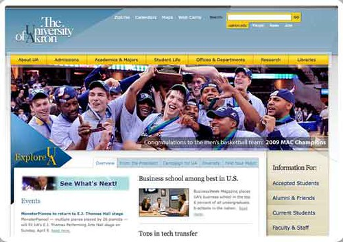 The-University-of-Akron---Home-Page