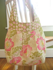 Finished Birdie Sling (SewLaTea) Tags: bag handmade sewing fabric amybutler birdiesling