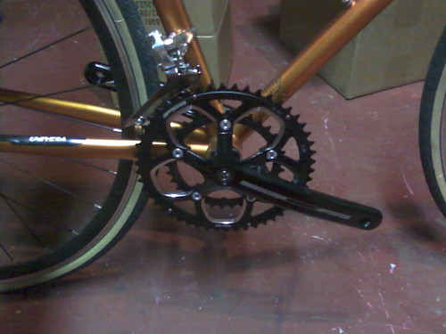 New Crankset and Front Derailleur