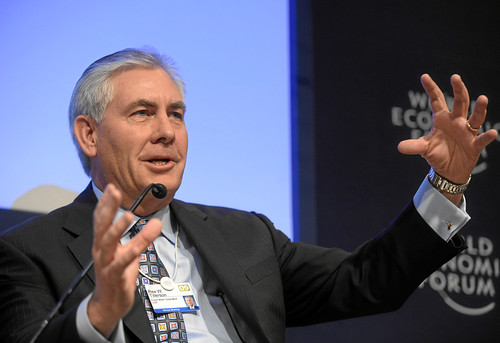 ExxonMobil CEO Rex Tillerson / Copyright by World Economic Forum swiss-image.ch/Photo by Michael Wuertenberg