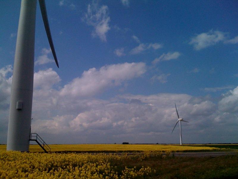 Boston wind Turbines