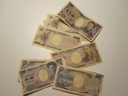 Yen in my pocket!