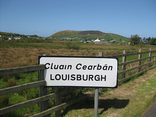 Approaching Louisburgh from Leenane