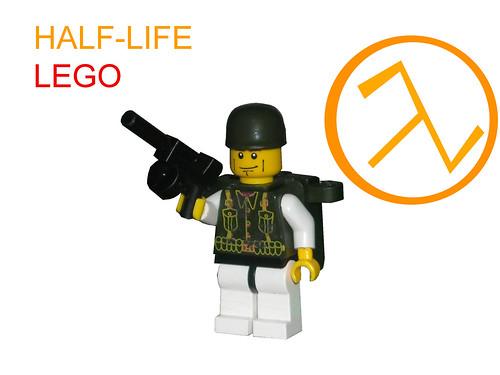 half life marine soldier custom minifig