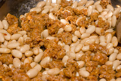 sausage and cannellini beans