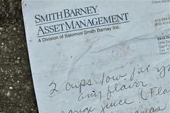 Recipe for a Better Economy (jannalauren) Tags: recipe economy smithbarney smithbarneyassetmanagement
