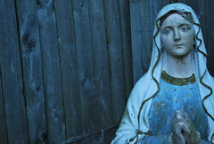 The Virgin Mary (Jessica Spangler) Tags: old vintage mary virgin