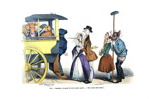 002-Les métamorphoses du jour (1869)-J.J Grandville