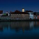 Regensburg: Night panorama