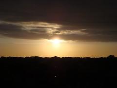 (Inge Fienieg) Tags: sunset holland zonsondergang view balcony balkon nederland thenetherlands zeeland uitzicht vlissingen oostsouburg balkonscene