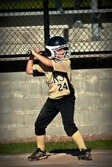 Max - Little League (stephenvance) Tags: 3 west ball outside outdoors virginia nikon baseball little 1st south side huntington bat first wv d200 base league elks basemen