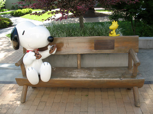 Charles M. Schulz Memorial Bench