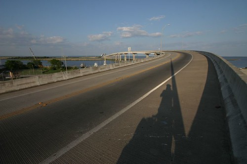 5 km bridge across Apalachicola River...