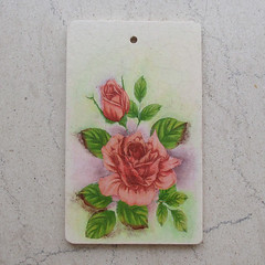 "Cutting board ""Rose"""