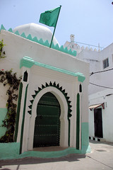 Moroccan Mosque (cwgoodroe) Tags: ocean africa street old city sea summer people sun fish bus colors metal ferry plane children cafe sand ancient colorful doors artistic pentax vibrant muslim poor streetlife mosque arabic panasonic doorway morocco arab friendly moors conservative script casbah vegtable merchants continent merchant christians tangier monger moroccan tanger kasbah cleric sadfaces metaldoors fishmerchant casba casbha dailylifeportrait