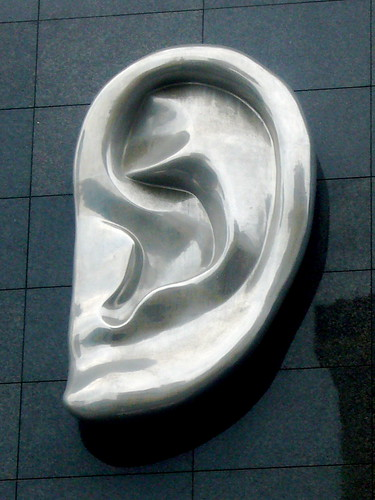 ear sculpture