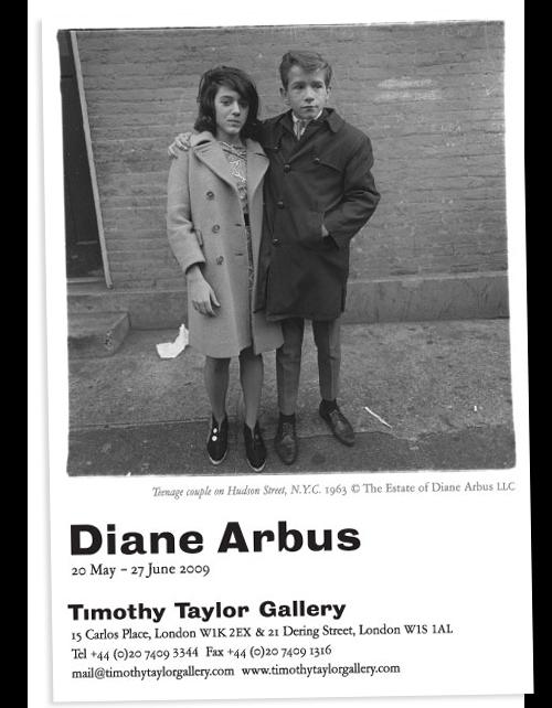 Diane Arbus - Timothy Taylor Gallery