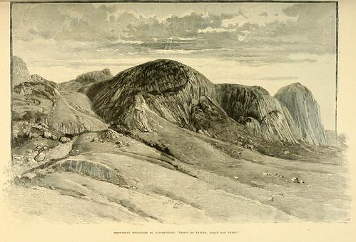 014-Montañas rocasas del Sur-Betsileo-Madagascar finales siglo XIX