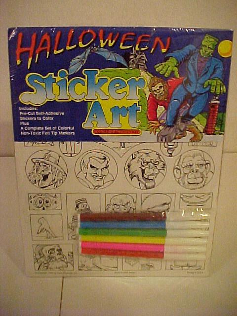 halloween_stickerart