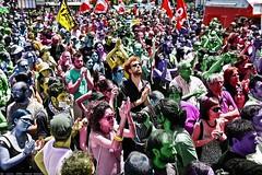 tutti i colori della protesta | no g8, lecce, italy, 2009