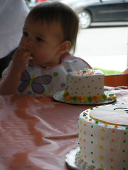 Tilly and her cake