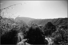 Vers les sommets (Erwanicolas) Tags: blackandwhite bw noiretblanc nb iledelarunion entredeux