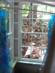 Shower view (Brite light photos) Tags: schwartz forrent hectorny valoiscabin
