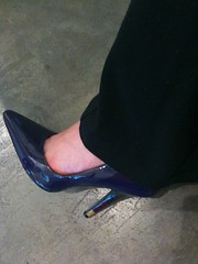 Why yes, thank you, my shoes ARE fierce today. ;)